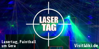 Lasertag, Paintball Gera